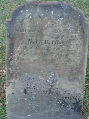 RUNKLE, BARBARAW - Fairfield County, Ohio | BARBARAW RUNKLE - Ohio Gravestone Photos