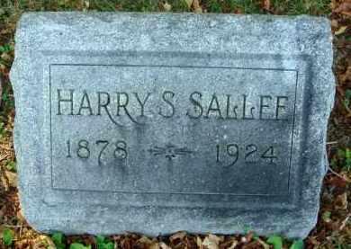 SALLEE, HARRY S. - Fairfield County, Ohio   HARRY S. SALLEE - Ohio Gravestone Photos