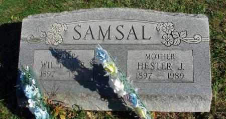 SAMSAL, WILLIAM B. - Fairfield County, Ohio | WILLIAM B. SAMSAL - Ohio Gravestone Photos