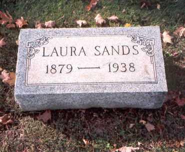 SANDS, LAURA - Fairfield County, Ohio   LAURA SANDS - Ohio Gravestone Photos