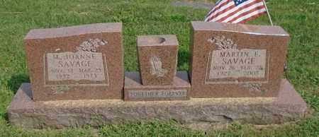 SAVAGE, MARTIN E. - Fairfield County, Ohio | MARTIN E. SAVAGE - Ohio Gravestone Photos