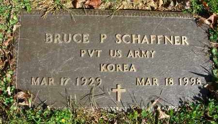 SCHAFFNER, BRUCE P. - Fairfield County, Ohio | BRUCE P. SCHAFFNER - Ohio Gravestone Photos