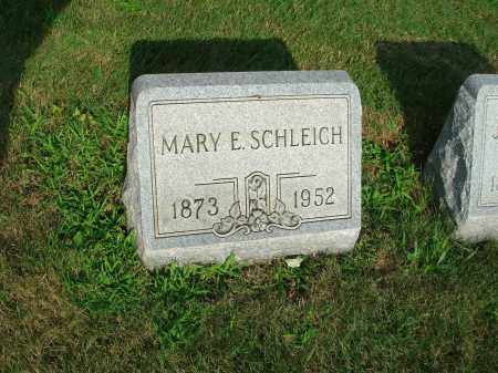 SCHLEICH, MARY E. - Fairfield County, Ohio | MARY E. SCHLEICH - Ohio Gravestone Photos
