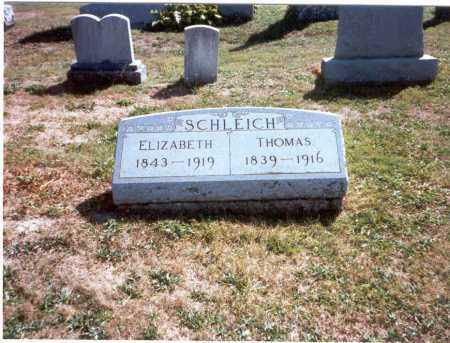 SCHLEICH, THOMAS - Fairfield County, Ohio | THOMAS SCHLEICH - Ohio Gravestone Photos