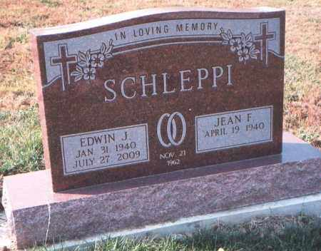 SCHLEPPI, EDWIN J. - Fairfield County, Ohio | EDWIN J. SCHLEPPI - Ohio Gravestone Photos