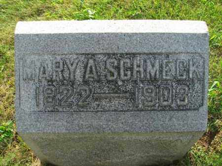 SCHMECK, MARY A. - Fairfield County, Ohio | MARY A. SCHMECK - Ohio Gravestone Photos
