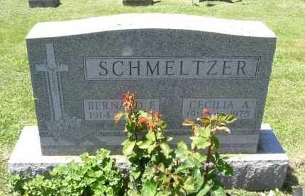 SCHMELTZER, BERNARD F. - Fairfield County, Ohio | BERNARD F. SCHMELTZER - Ohio Gravestone Photos
