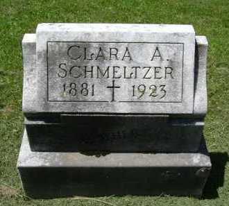 SCHMELTZER, CLARA A. - Fairfield County, Ohio | CLARA A. SCHMELTZER - Ohio Gravestone Photos