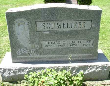 SCHMELTZER, IDA LOUISE - Fairfield County, Ohio | IDA LOUISE SCHMELTZER - Ohio Gravestone Photos