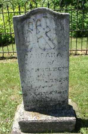 SCHORR SCHMELZER, BARBARA - Fairfield County, Ohio | BARBARA SCHORR SCHMELZER - Ohio Gravestone Photos