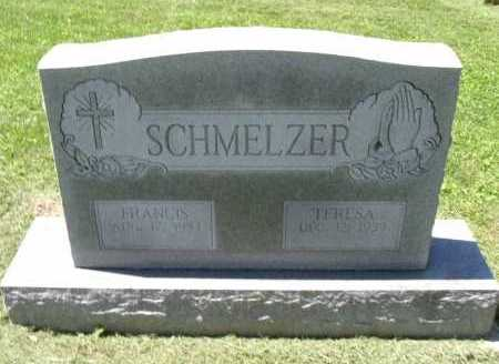 SCHMELZER, FRANCIS - Fairfield County, Ohio | FRANCIS SCHMELZER - Ohio Gravestone Photos