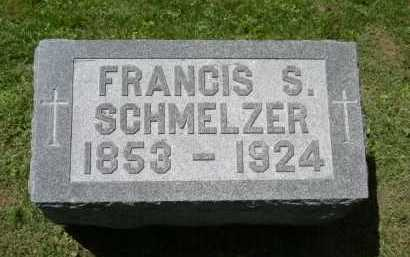 SCHMELZER, FRANCIS G. - Fairfield County, Ohio | FRANCIS G. SCHMELZER - Ohio Gravestone Photos