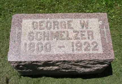 SCHMELZER, GEORGE W. - Fairfield County, Ohio   GEORGE W. SCHMELZER - Ohio Gravestone Photos