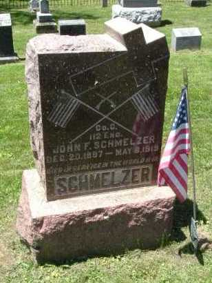 SCHMELZER, JOHN F. - Fairfield County, Ohio | JOHN F. SCHMELZER - Ohio Gravestone Photos