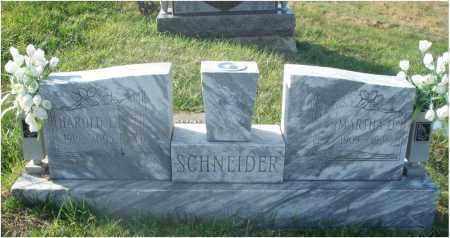 SCHNEIDER, HAROLD E. - Fairfield County, Ohio | HAROLD E. SCHNEIDER - Ohio Gravestone Photos