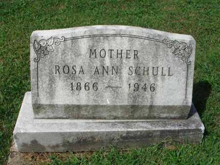 SCHULL, ROSA ANN - Fairfield County, Ohio | ROSA ANN SCHULL - Ohio Gravestone Photos
