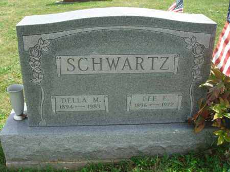 SCHWARTZ, LEE E. - Fairfield County, Ohio | LEE E. SCHWARTZ - Ohio Gravestone Photos