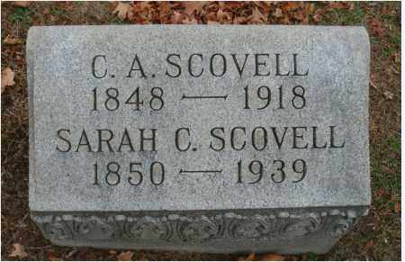 SCOVELL, C. A. - Fairfield County, Ohio | C. A. SCOVELL - Ohio Gravestone Photos