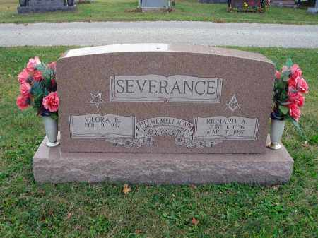 SEVERANCE, RICHARD A. - Fairfield County, Ohio   RICHARD A. SEVERANCE - Ohio Gravestone Photos