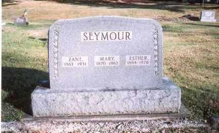 SEYMOUR, MARY - Fairfield County, Ohio | MARY SEYMOUR - Ohio Gravestone Photos