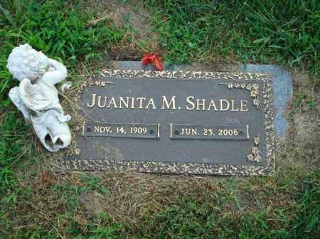 SHADLE, JUANITA M. - Fairfield County, Ohio   JUANITA M. SHADLE - Ohio Gravestone Photos
