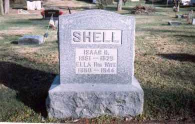 SHELL, ELLA - Fairfield County, Ohio   ELLA SHELL - Ohio Gravestone Photos
