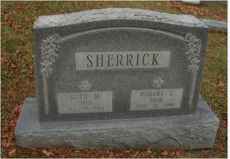SHERRICK, RUTH M. - Fairfield County, Ohio | RUTH M. SHERRICK - Ohio Gravestone Photos