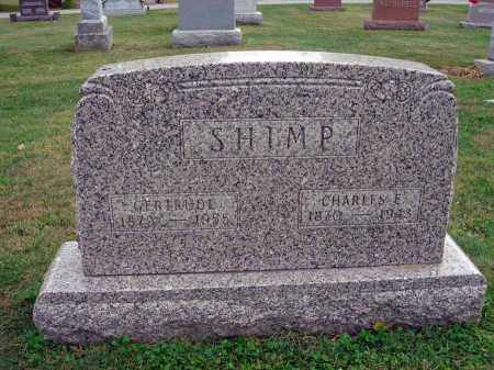 SHIMP, CHARLES E. - Fairfield County, Ohio | CHARLES E. SHIMP - Ohio Gravestone Photos