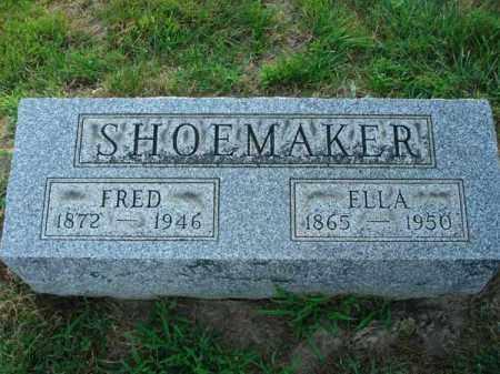 SHOEMAKER, FRED - Fairfield County, Ohio | FRED SHOEMAKER - Ohio Gravestone Photos