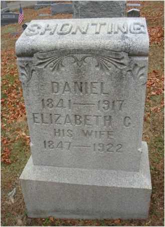 SHONTING, ELIZABETH C. - Fairfield County, Ohio   ELIZABETH C. SHONTING - Ohio Gravestone Photos