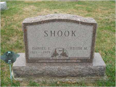 EVANS SHOOK, EDITH M. - Fairfield County, Ohio | EDITH M. EVANS SHOOK - Ohio Gravestone Photos