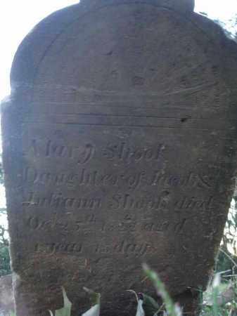 SHOOK, MARY - Fairfield County, Ohio | MARY SHOOK - Ohio Gravestone Photos