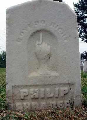 SHRADER, PHILIP - Fairfield County, Ohio   PHILIP SHRADER - Ohio Gravestone Photos