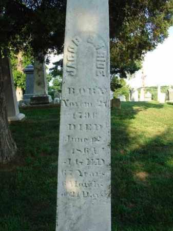 SHRIDE, JACOB - Fairfield County, Ohio   JACOB SHRIDE - Ohio Gravestone Photos