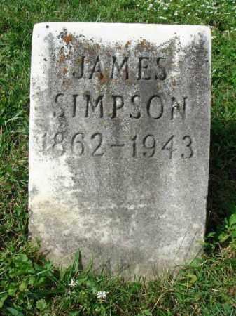 SIMPSON, JAMES - Fairfield County, Ohio | JAMES SIMPSON - Ohio Gravestone Photos