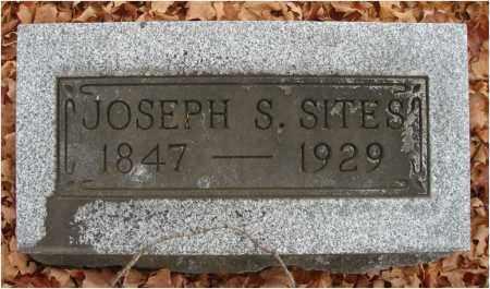 SITES, JOSEPH S. - Fairfield County, Ohio   JOSEPH S. SITES - Ohio Gravestone Photos