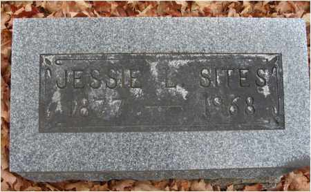 SITES, JESSIE L. - Fairfield County, Ohio | JESSIE L. SITES - Ohio Gravestone Photos