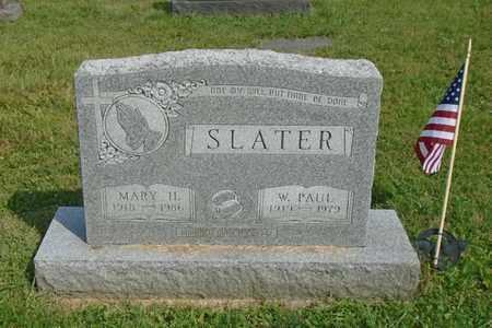 SLATER, MARY H. - Fairfield County, Ohio   MARY H. SLATER - Ohio Gravestone Photos