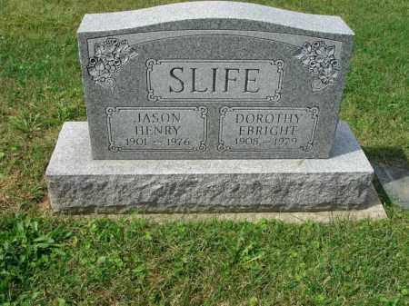 SLIFE, DOROTHY - Fairfield County, Ohio   DOROTHY SLIFE - Ohio Gravestone Photos