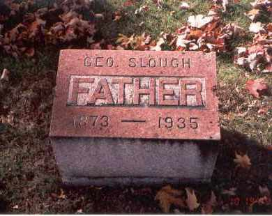 SLOUGH, GEORGE - Fairfield County, Ohio | GEORGE SLOUGH - Ohio Gravestone Photos