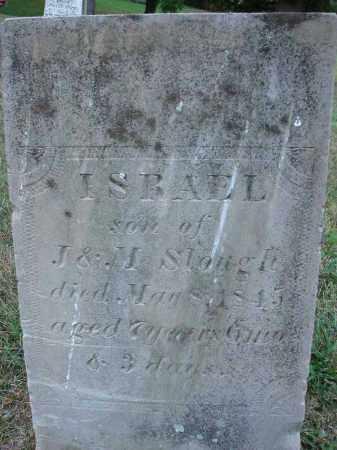 SLOUGH, ISREAL - Fairfield County, Ohio | ISREAL SLOUGH - Ohio Gravestone Photos