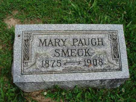 SMECK, MARY PAUGH - Fairfield County, Ohio   MARY PAUGH SMECK - Ohio Gravestone Photos