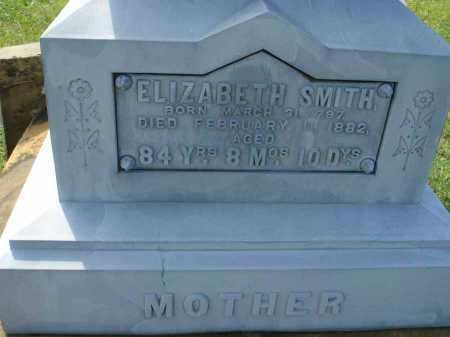 SMITH, ELIZABETH - Fairfield County, Ohio | ELIZABETH SMITH - Ohio Gravestone Photos