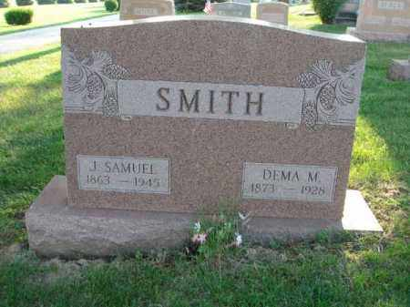 SMITH, J. SAMUEL - Fairfield County, Ohio | J. SAMUEL SMITH - Ohio Gravestone Photos