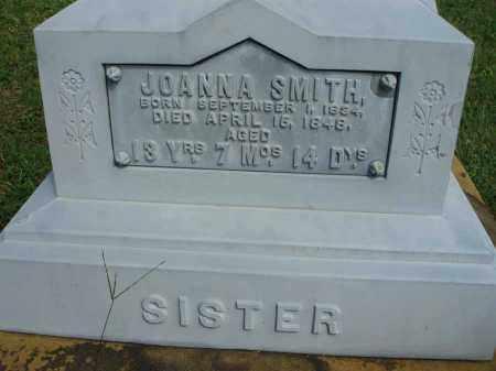 SMITH, JOANNA - Fairfield County, Ohio | JOANNA SMITH - Ohio Gravestone Photos