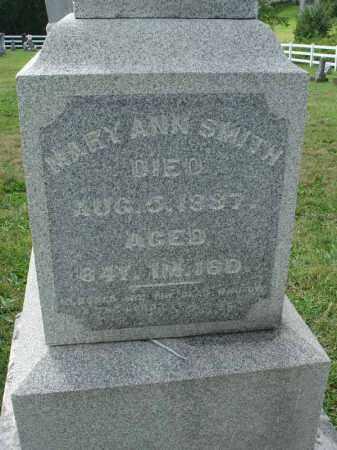 SMITH, MARY ANN - Fairfield County, Ohio | MARY ANN SMITH - Ohio Gravestone Photos