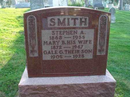 SMITH, STEPHEN A. - Fairfield County, Ohio   STEPHEN A. SMITH - Ohio Gravestone Photos