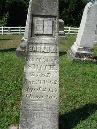 SMITH, SARAH A. - Fairfield County, Ohio | SARAH A. SMITH - Ohio Gravestone Photos