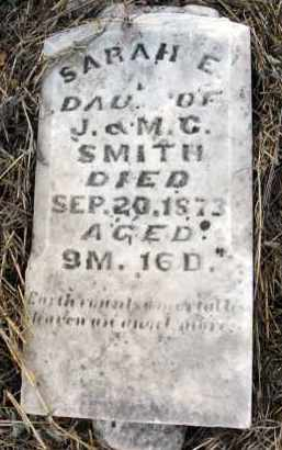SMITH, SARAH E. - Fairfield County, Ohio | SARAH E. SMITH - Ohio Gravestone Photos