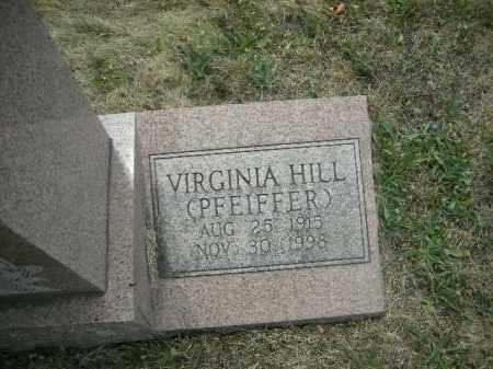 HILL SMITH, VIRGINIA - Fairfield County, Ohio | VIRGINIA HILL SMITH - Ohio Gravestone Photos
